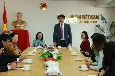Trương Thị Mai tại New zealand