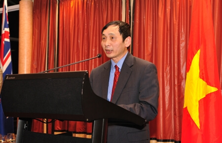 Vietnamese Ambassador to New Zealand Nguyen Hong Cuong