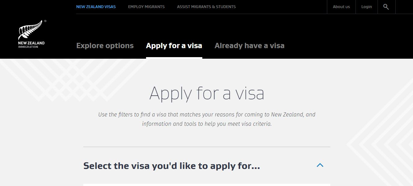 Phần 2: Cách điền đơn xin visa New Zealand online
