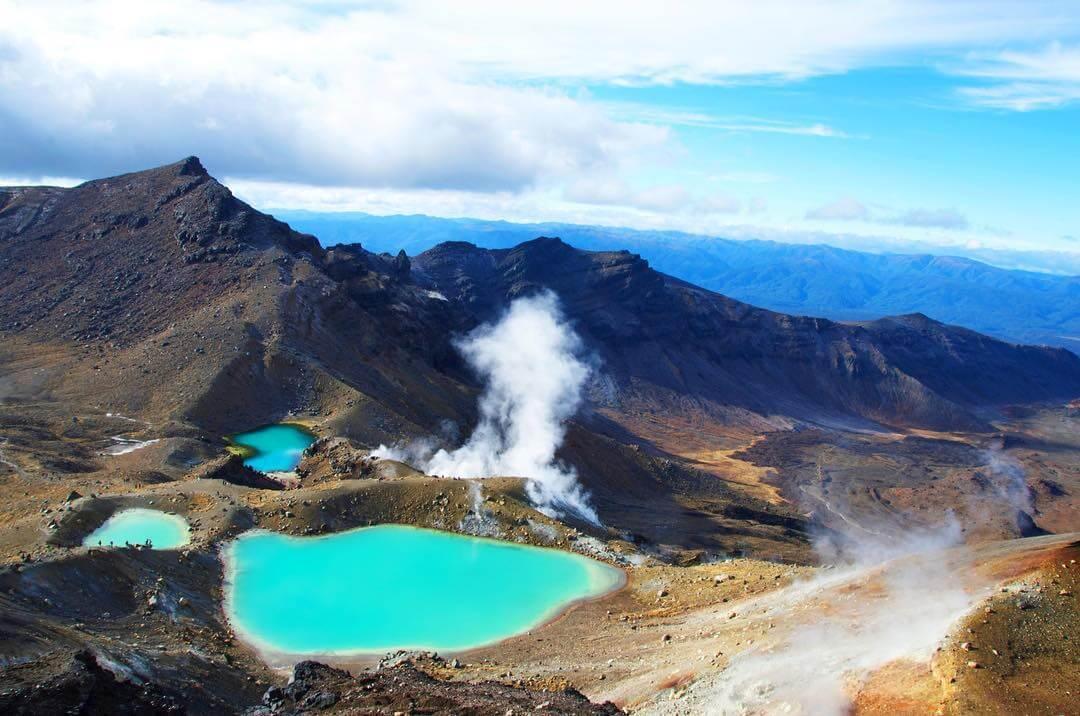 Tongariro là công viên quốc gia đầu tiên của New Zealand