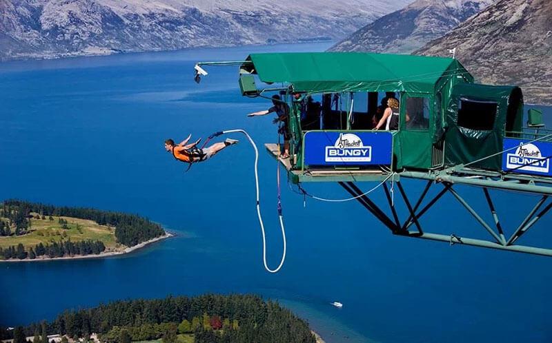 Du lịch New Zealand nổi tiếng với các trò chơi mạo hiểm