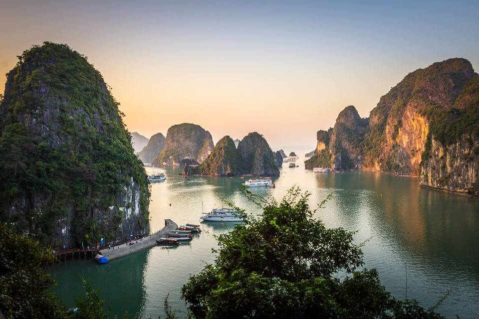 ha long - best places to visit Vietnam in August