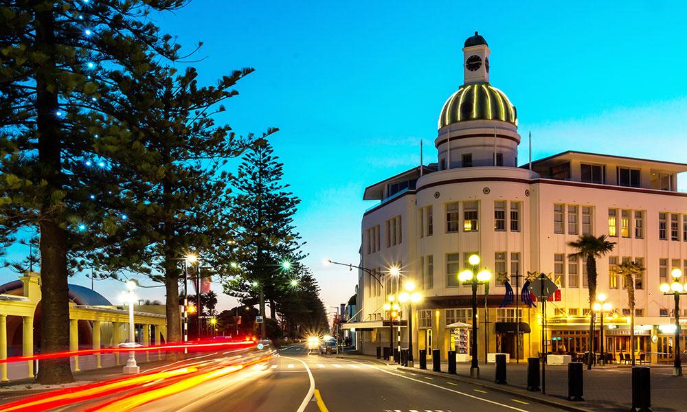 Napier – thành phố nhỏ xinh trong vịnh Hawke