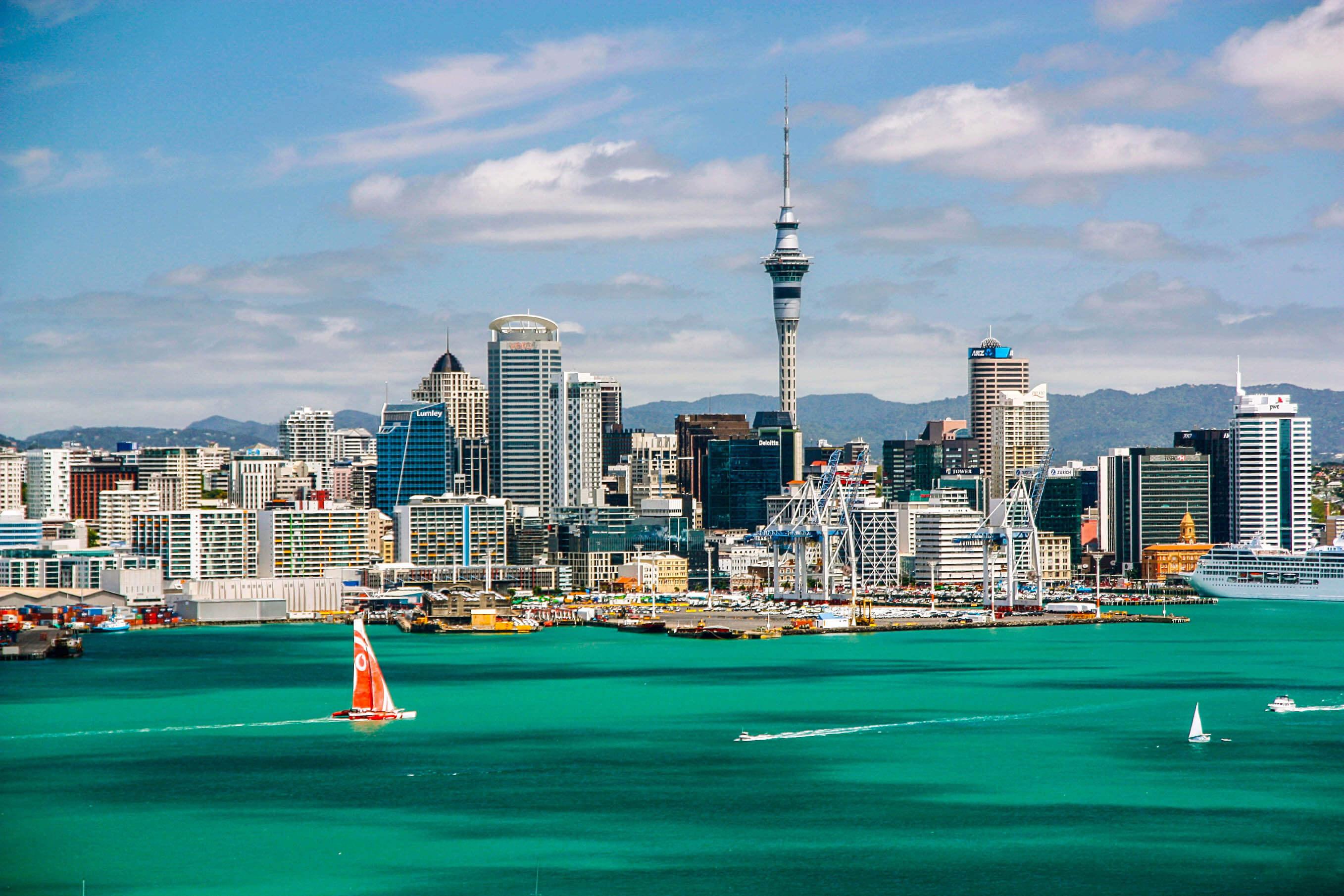 Auckland – Thành phố của những cánh buồm