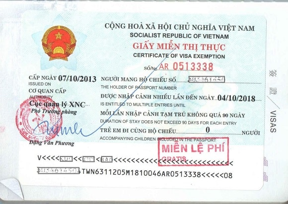 Condition for New Zealand citizens to get 5 year Vietnam