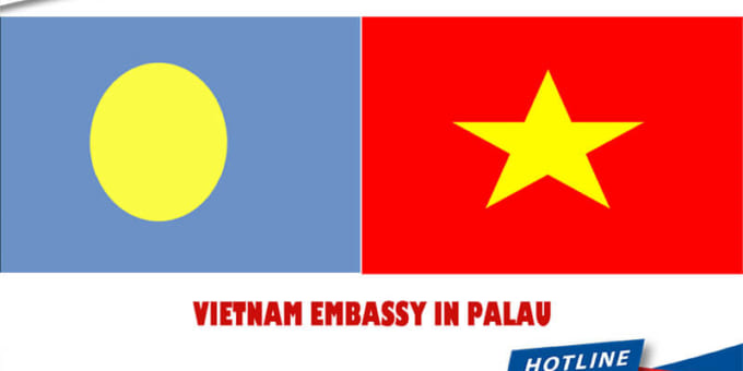 What is the address of Vietnam Embassy in Palau?