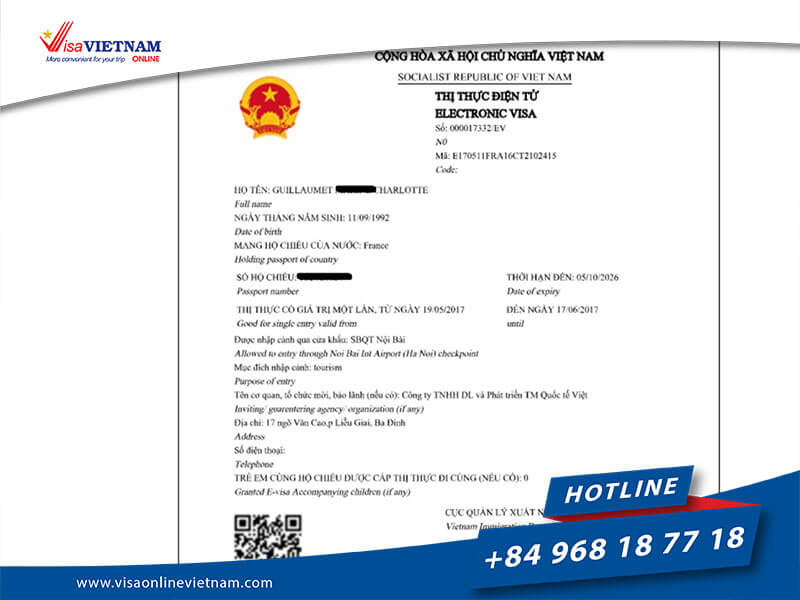 Vietnam Electronic Visa (e-Visa) for Australian citizens