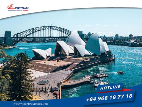 Vietnam visa requirements for Australia citizens