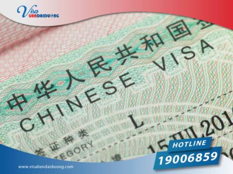 xin visa đi Trung Quốc lần đầu