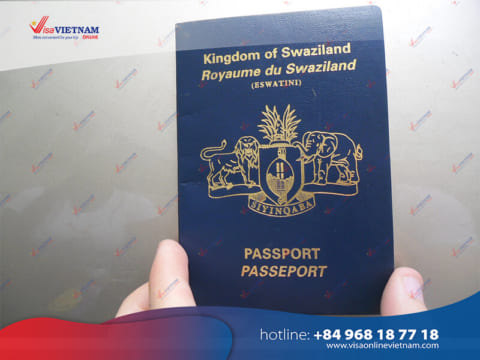 Vietnam visa on Arrival from Swaziland
