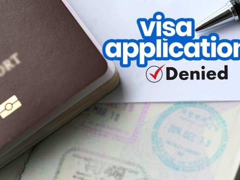 visa Pháp bị từ chối