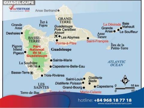 How to get Vietnam visa from Guadeloupe? - Visa Vietnam en Guadeloupe